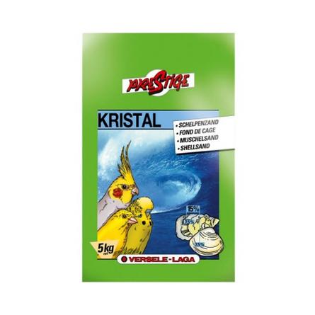 Купить Versele Laga Prestige Kristal песок гигиенический с морскими раковинами для птиц, 5 кг