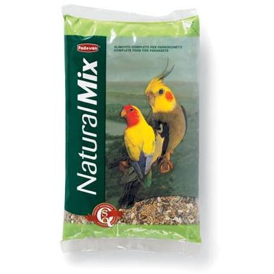 Padovan Natural Mix Parrocchetti Корм для средних попугаев, 850 гр фото