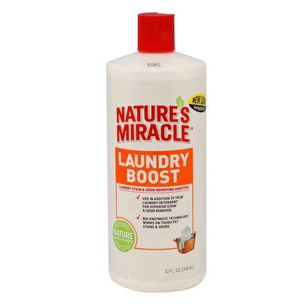 Nature's Miracle Laundry Boost Stain Средство для стирки для уничтожения пятен и запаха, 945 мл