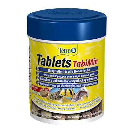 Tetra Tablets TabiMin корм для всех видов донных рыб в виде таблеток, 150 мл