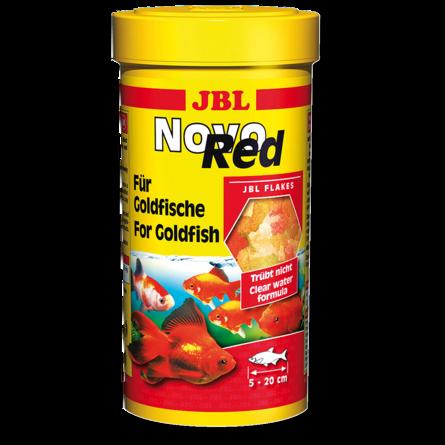JBL NovoRed Корм для аквариумных золотых рыбок, хлопья, 190 гр