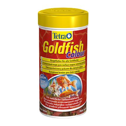 Купить Tetra Goldfish Colour корм для усиления окраса для золотых рыбок, 100 мл