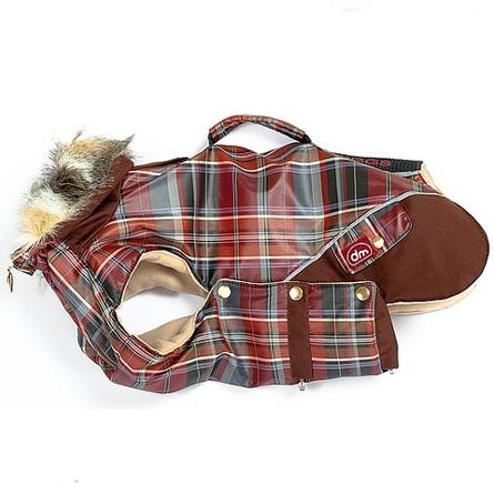Купить DogModa Doggs Попона теплая для собак, длина спины 54 см, обхват шеи 54 см, обхват груди 81 см, девочка