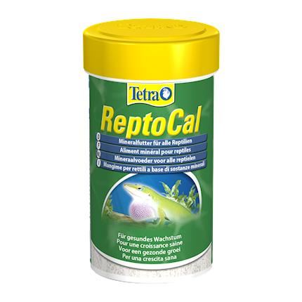 Tetra ReptoCal Минеральная подкормка для всех видов рептилий, 100 мл  - купить со скидкой