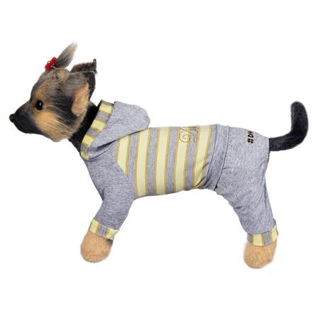Купить DogModa Комбинезон Грей для собак, длина спины 28 см, обхват шеи 29 см, обхват груди 45 см