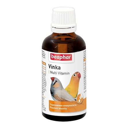 Beaphar VINKA Витамины для укрепления иммунитета у птиц, 50 мл