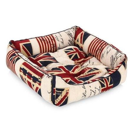 Купить CLP Флаг Квадратная лежанка для собак и кошек, хлопок