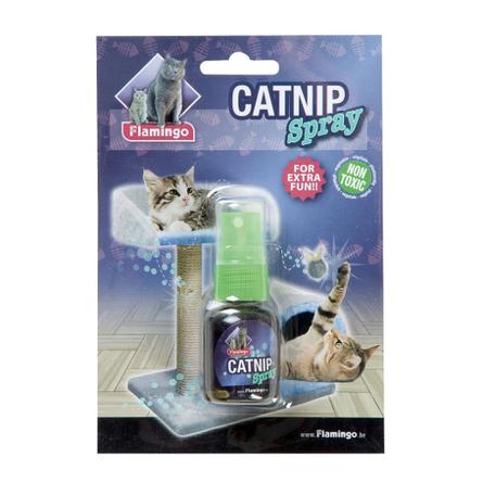Flamingo Спрей для кошек и котят (с кошачьей мятой), 25 мл