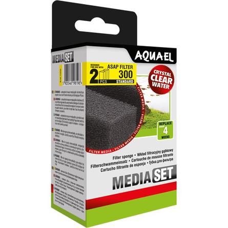 Купить Aquael Сменная губка для Aquael Asap 300, 2 шт, Aqua El