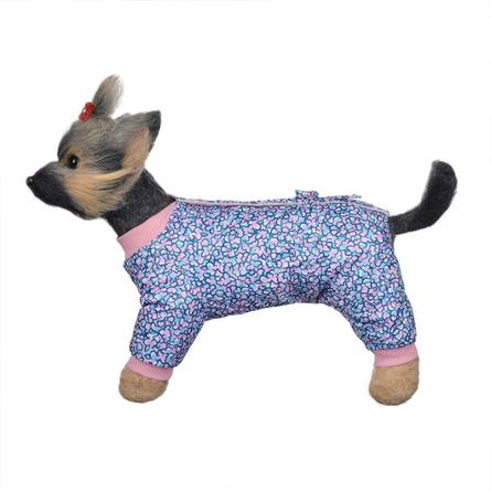 DogModa Комбинезон Лаки для собак, длина спины 28 см, обхват шеи 29 см, обхват груди 45 см, девочка  - купить со скидкой