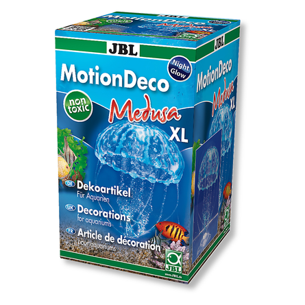 JBL Медуза голубая XL Декорация для аквариума фото