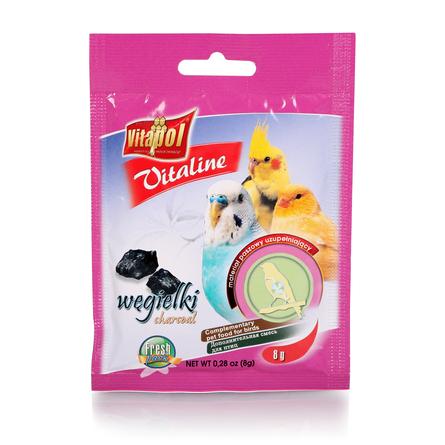 Vitapol VITALINE уголь для птиц, 8 гр