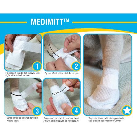 PawFlex MediMitt Bandage XS Набор бандажей для лап