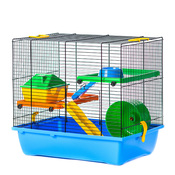 InterZoo G-043 GINO I COLOR + PLASTIC Клетка для хомяков, металл, пластик