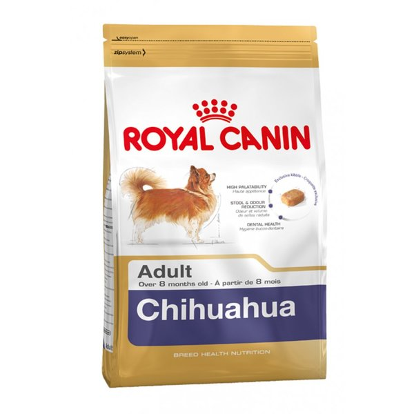 Royal Canin Chihuahua Adult сухой корм для собак породы чихуахуа – интернет-магазин Ле'Муррр