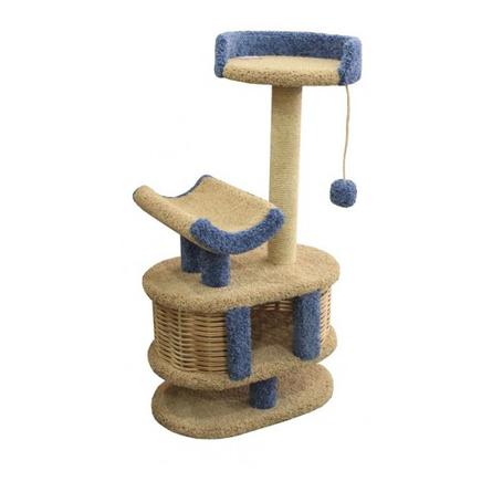 Купить Пушок Когтеточка-комплекс Йорик для кошек, сезаль