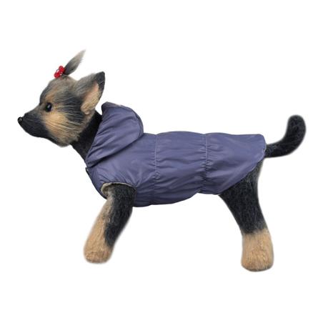 DogModa Куртка Сезон для собак, длина спины 37 см, обхват шеи 38 см, обхват груди 60 см, унисекс  - купить со скидкой
