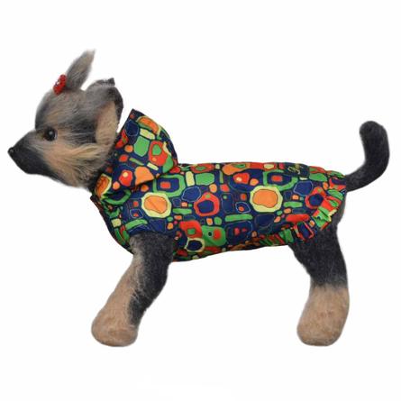 Купить DogModa Ветровка Сити для собак, длина спины 20 см, обхват шеи 21 см, обхват груди 33 см