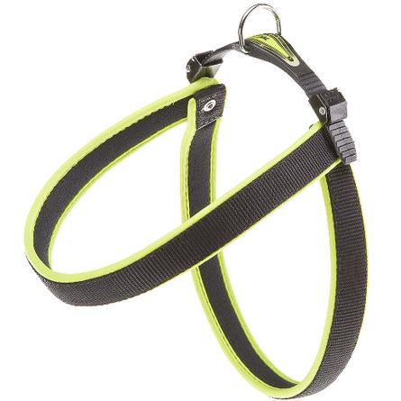 Ferplast Agila Ergofluo 4 Шлейка для собак, ширина 2 см, обхват шеи 44 см, обхват груди 52 см, желтая фото