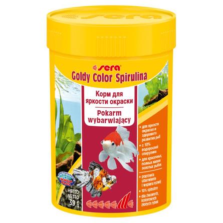 Купить Sera Goldy Color Spirulina корм для золотых рыбок со спирулиной, 39 гр