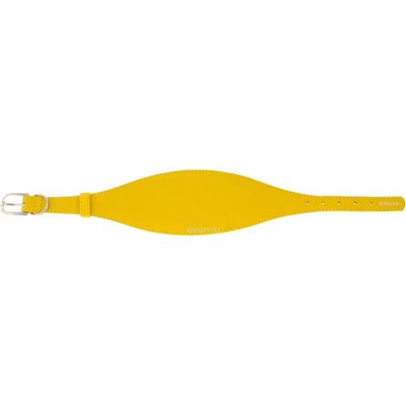 Купить Collar Glamour Ошейник для борзых собак, ширина 1, 5 см, длина 29-35 см, желтый