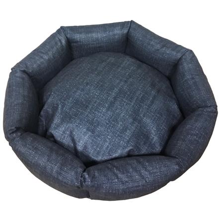 CLP Свит Хоум Джинс M Лежанка круглая для животных, синяя фото