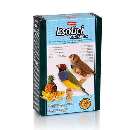 Padovan Grandmix Esotici Корм для экзотических птиц, 400 гр