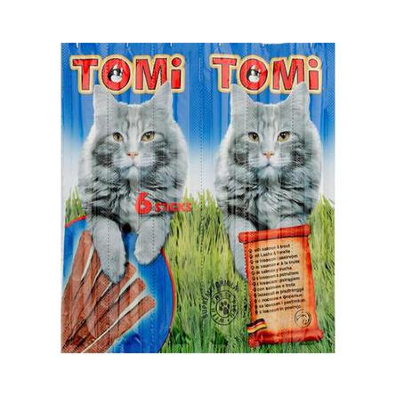 ToMi Палочки для кошек (с лососем и форелью), 30 гр