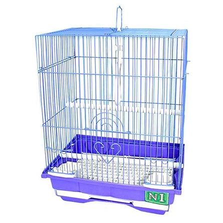 Купить N1 клетка для птиц прямоугольная, укомплектованная (ДКпА105)