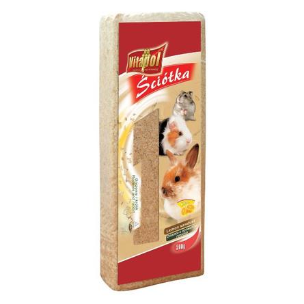 Vitapol Опилки для грызунов (с ароматом лимона), 12 л
