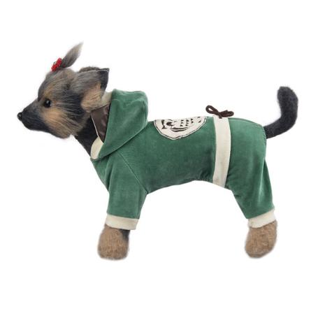 DogModa Комбинезон Сова для собак, длина спины 20 см, обхват шеи 21 см, обхват груди 33 см  - купить со скидкой