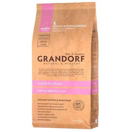 Купить Grandorf Lamb & Rice Puppy All Breeds Сухой корм для щенков всех пород (с ягненком и рисом), 1 кг