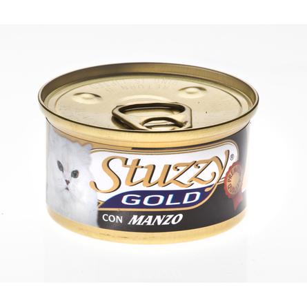 Stuzzy Gold консервы для кошек (мусс из говядины), 85 гр