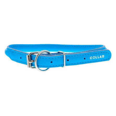 Купить Collar Ошейник для собак Collar Glamour , круглый, диаметр 1 см, длина 39-47 см, синий