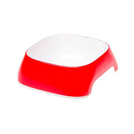 Ferplast Glam Medium Миска для собак, красная, пластик
