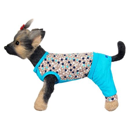 Купить DogModa Комбинезон Алекс для собак, длина спины 28 см, обхват шеи 29 см, обхват груди 45 см