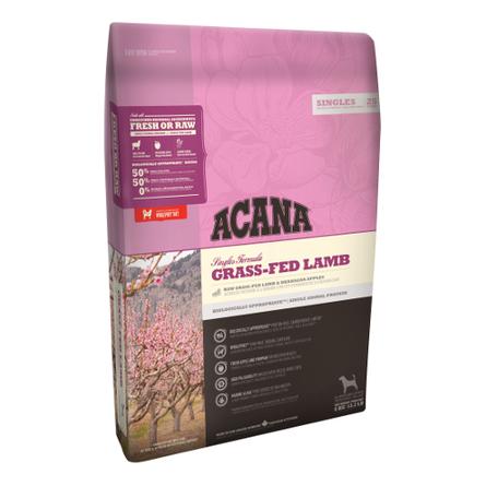 Acana Singles Grass-fed Lamb Сухой корм для собак и щенков всех пород (с ягненком и яблоком), 340 гр фото