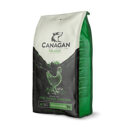 Купить Canagan Grain Free Free Range Chicken Беззерновой сухой корм для собак и щенков всех пород (с цыплёнком), 12 кг