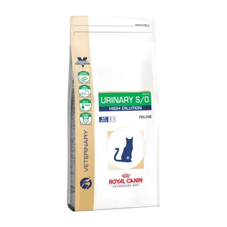Купить Royal Canin Urinary S/O High Dilution Сухой лечебный корм для кошек при заболеваниях мочевыводящих путей, 400 гр