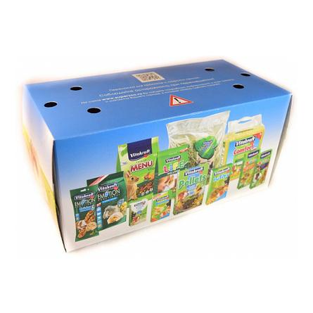 Купить Vitakraft Переноска картонная для морских свинок