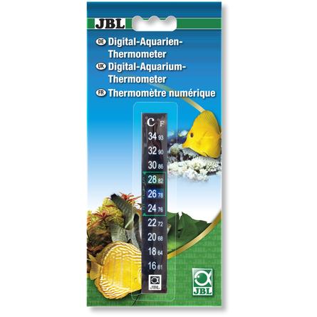 Купить JBL Digital-Aquarium-Thermometer Цифровой аквариумный термометр, 13 см