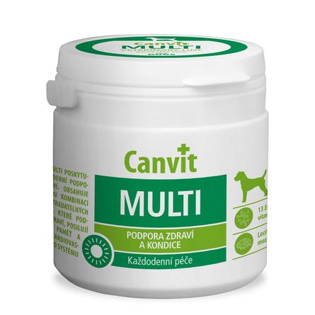 Biofaktory Canvit Multi Витаминно-минеральная добавка для взрослых собак, 100 таблеток, 100 гр фото