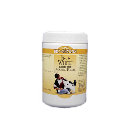 Bio-Groom Pro White Smooth Пудра для собак и кошек для мягкой шерсти, 177 мл