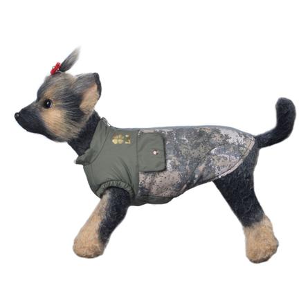 DogModa Куртка Классик для собак, длина спины 24 см, обхват шеи 25 см, обхват груди 39 см, унисекс  - купить со скидкой