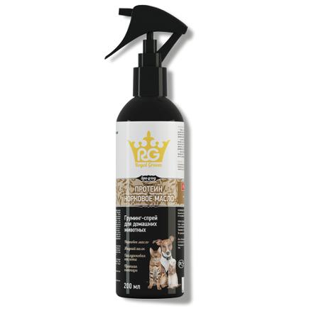 Купить Royal Groom Норковое масло Грумминг-спрей для домашних животных, 200 мл