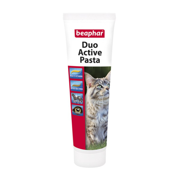 Beaphar Duo-Active Paste For Cats поливитаминная паста двойного действия для кошек