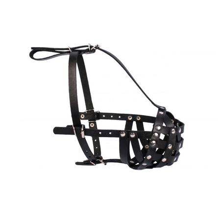 Collar Намордник для собак, обхват морды 33 см, длина морды 13 см, черный фото