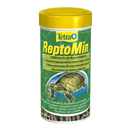 ReptoMin Корм для водных черепах, палочки, 250 мл