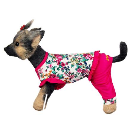 Купить DogModa Комбинезон Оливия для собак, длина спины 32 см, обхват шеи 33 см, обхват груди 52 см