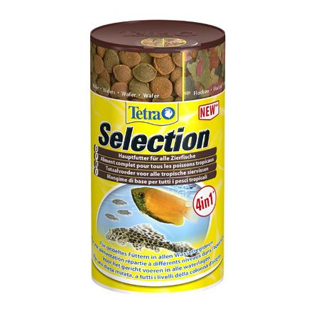 Tetra Selection набор из 4 видов сухих кормов для аквариумных рыб, 95 гр
